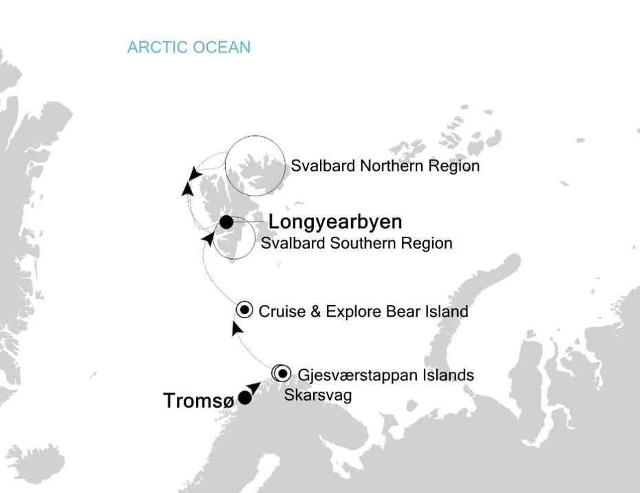 1915 - Tromsø a Longyearbyen