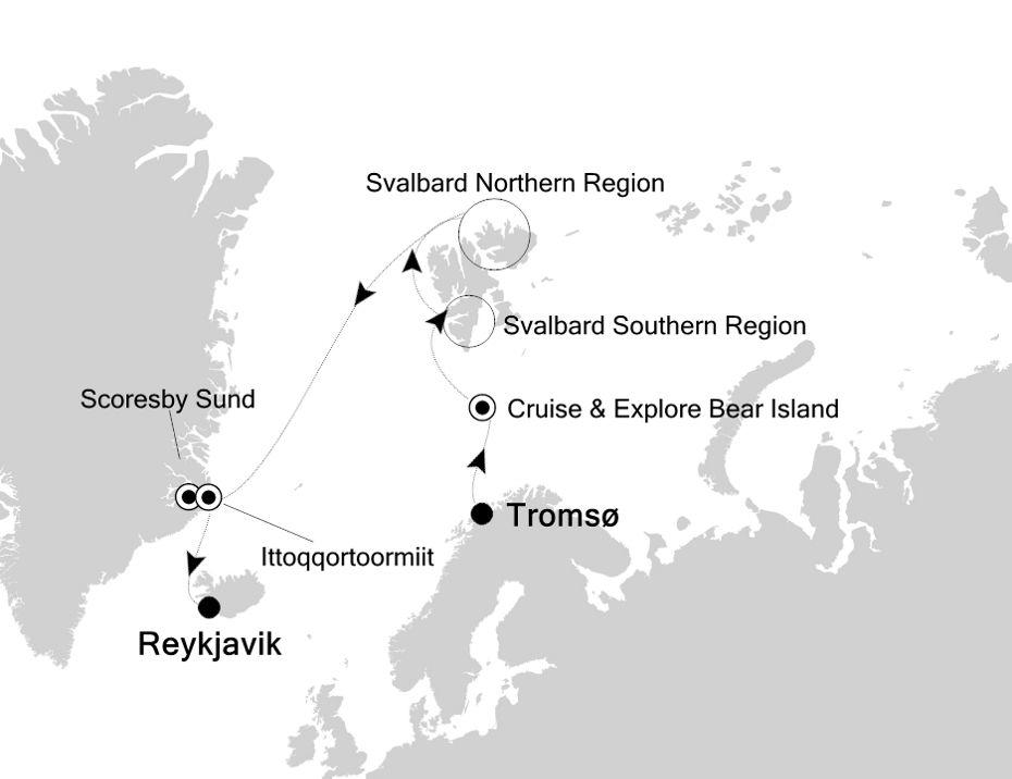 7917 - Tromsø à Reykjavik