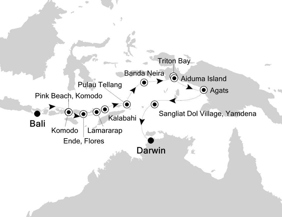 9906 - Bali to Darwin