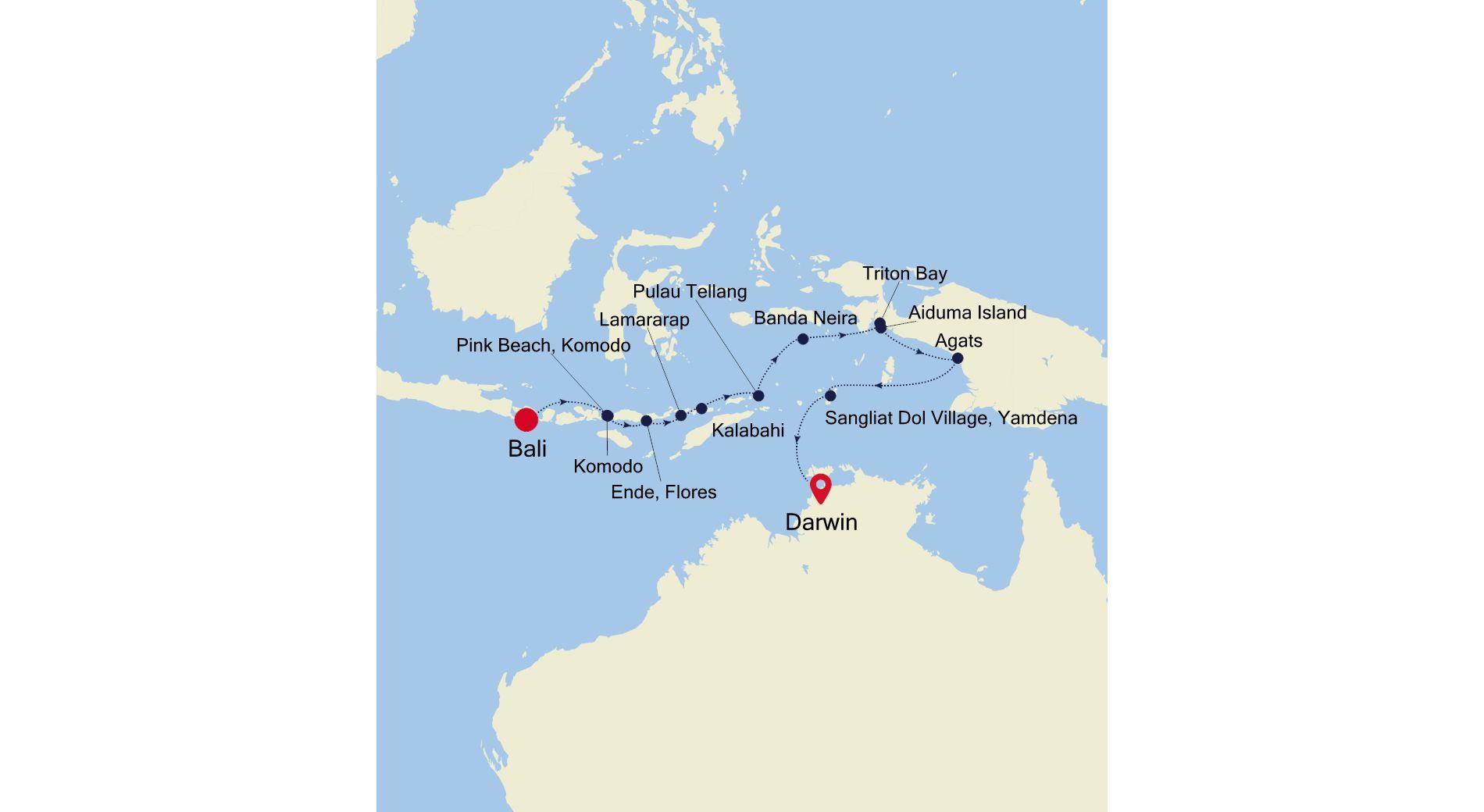 9906 - Bali a Darwin