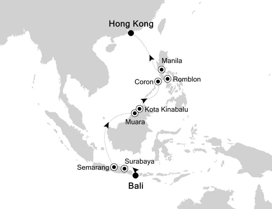4805 - Bali a Hong Kong