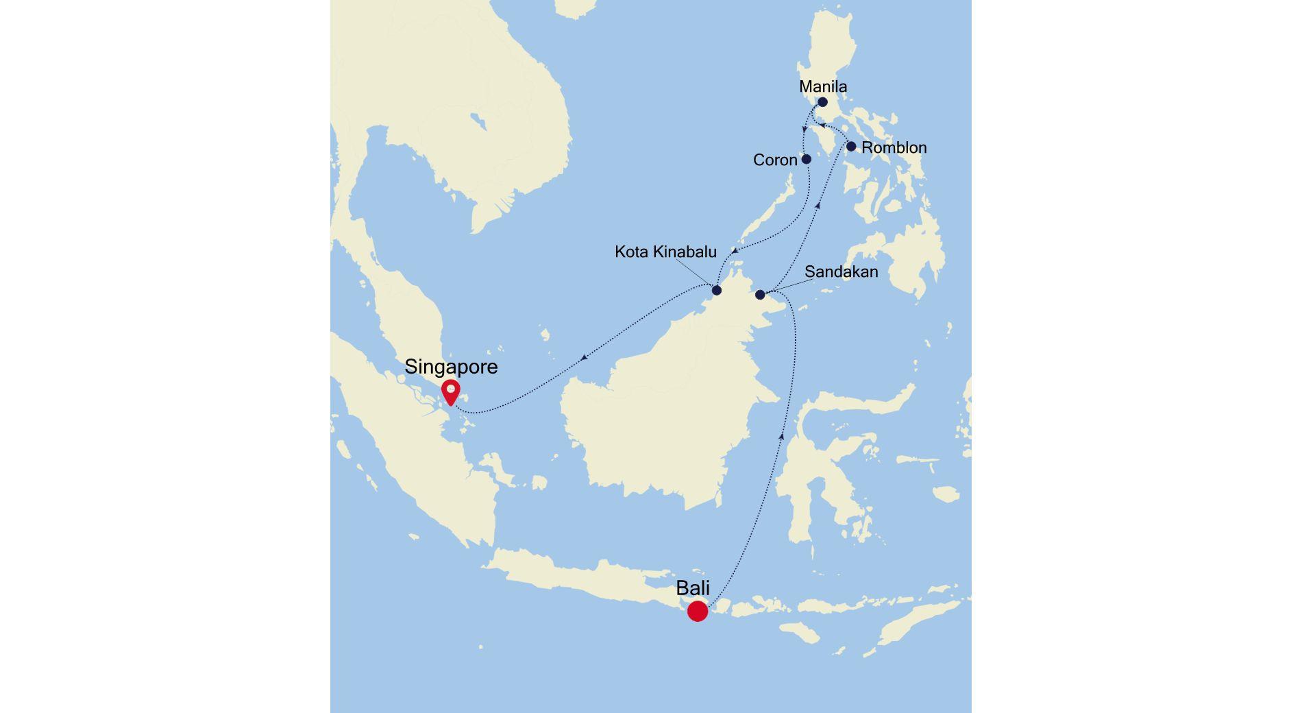 6905 - Bali à Singapore