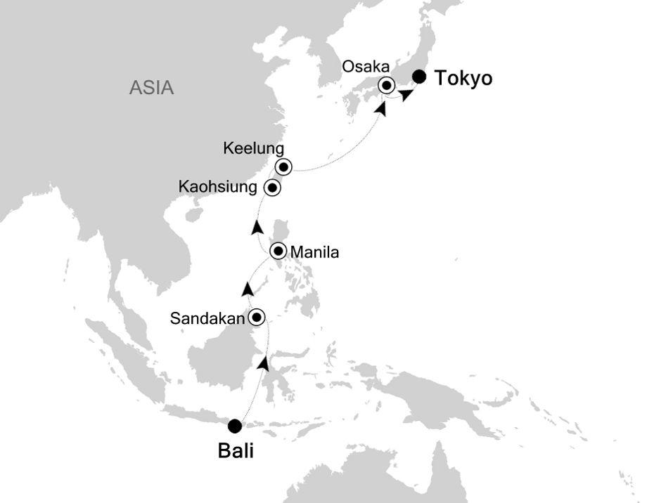 4904 - Bali à Tokyo