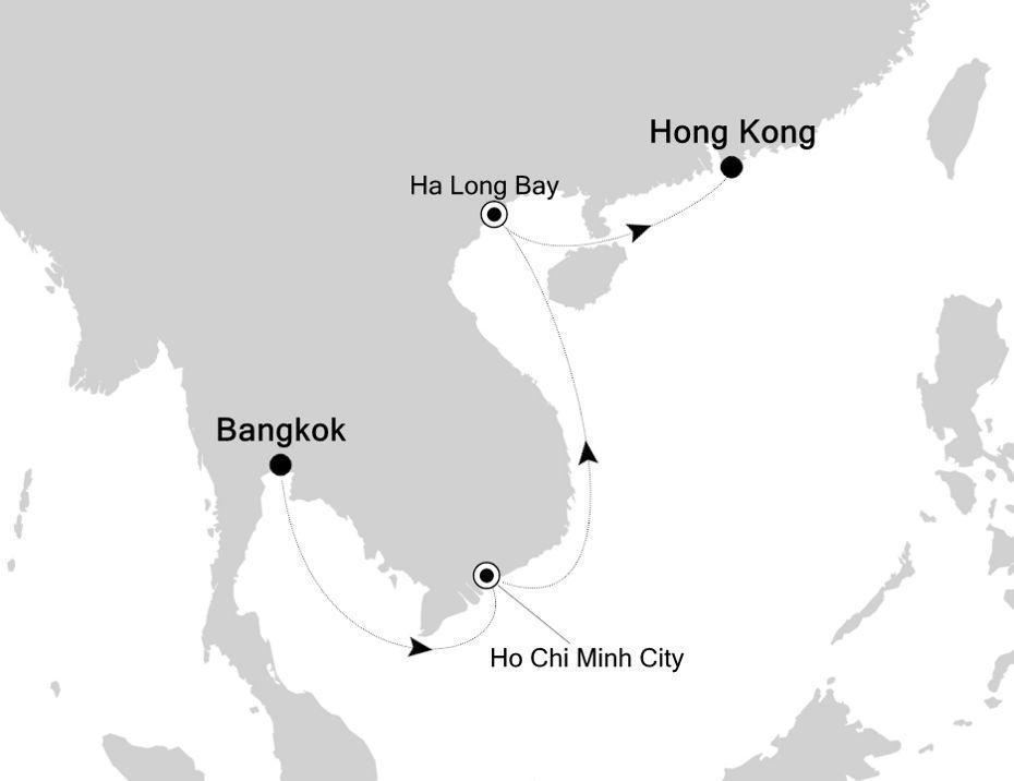 3835A - Bangkok to Hong Kong