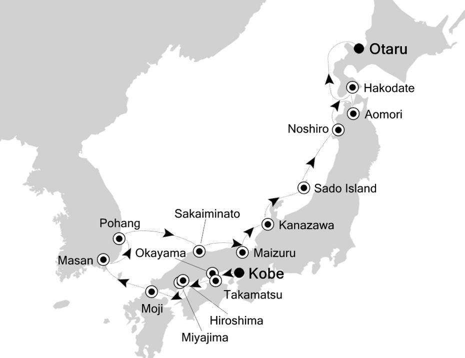7911 - Kobe  nach Otaru
