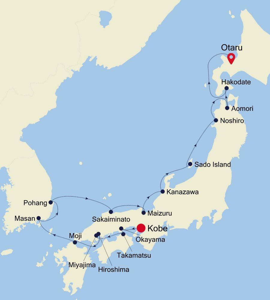7911 - Kobe  a Otaru