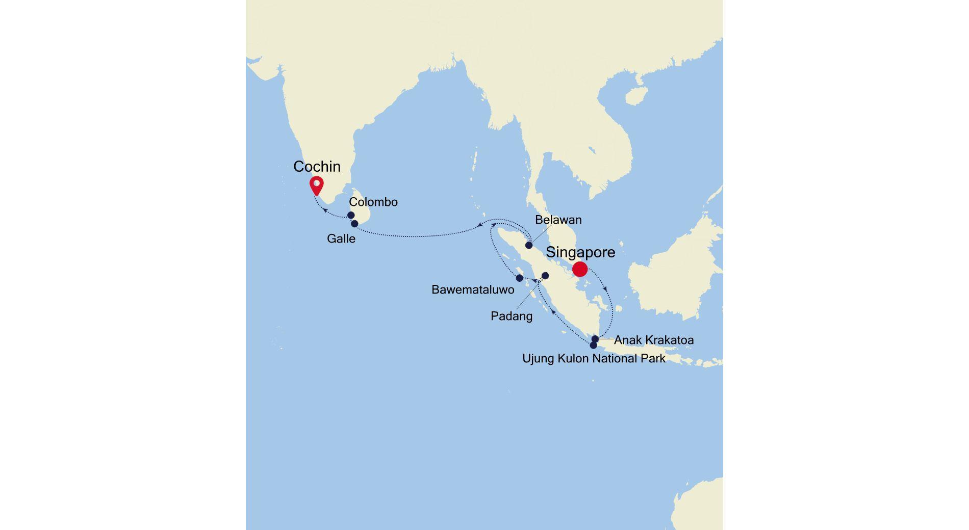 E4210428016 - Singapore a Cochin