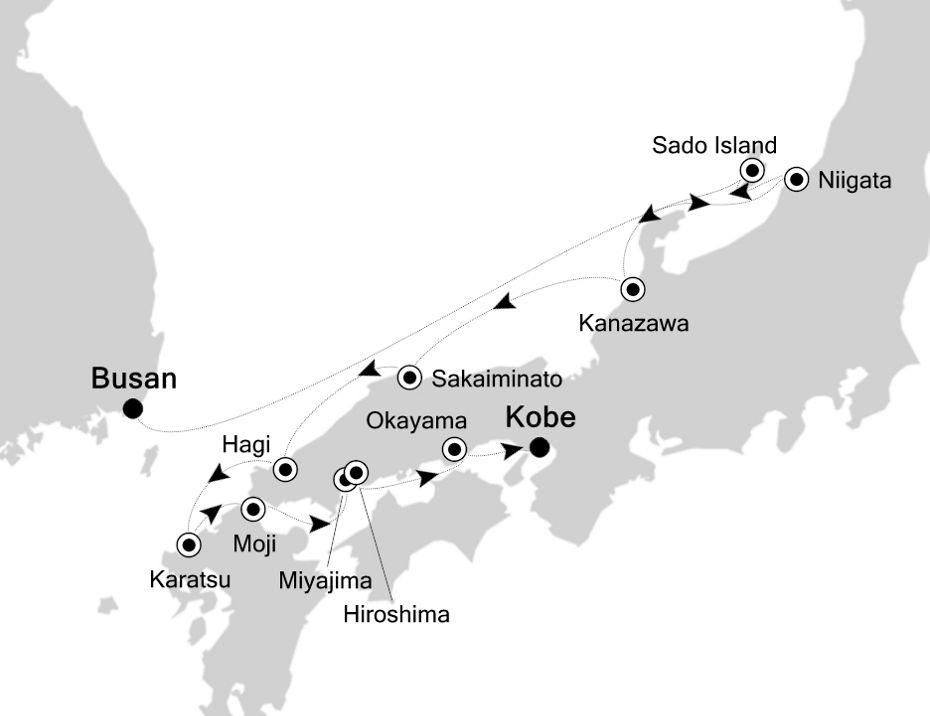 7910A - Busan a Kobe