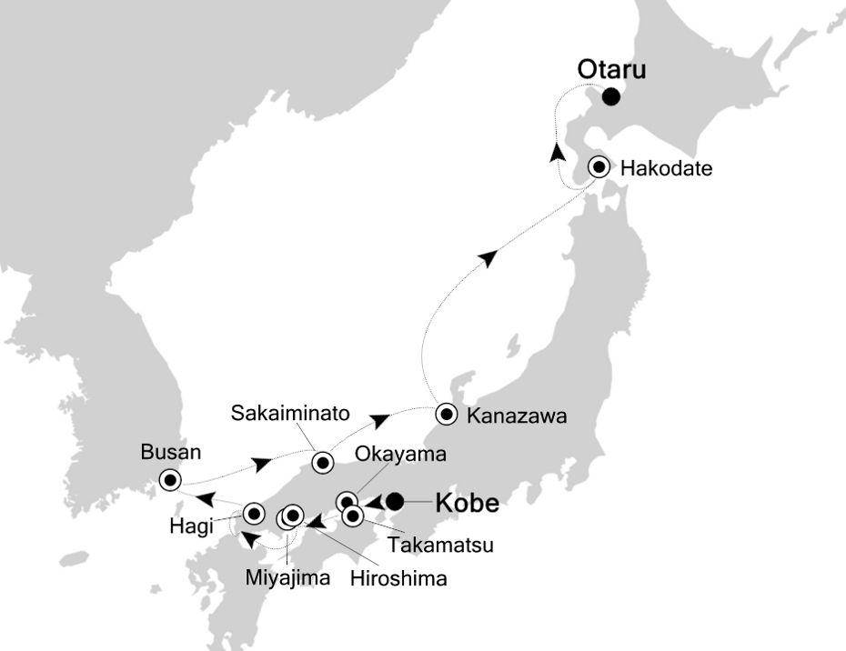 E1200607011 - Kobe  nach Otaru