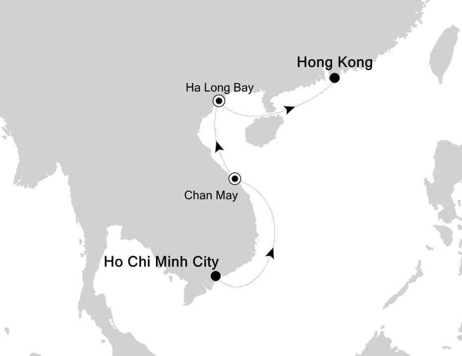 3808A - Ho Chi Minh City nach Hong Kong