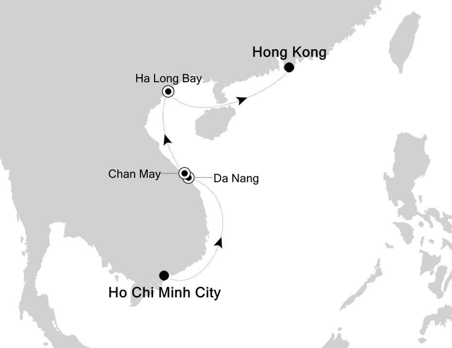 3905A - Ho Chi Minh City à Hong Kong