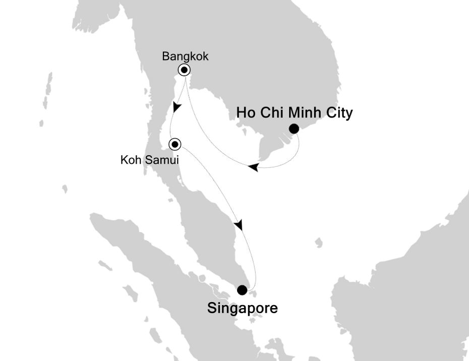 3906A - Ho Chi Minh City à Singapore