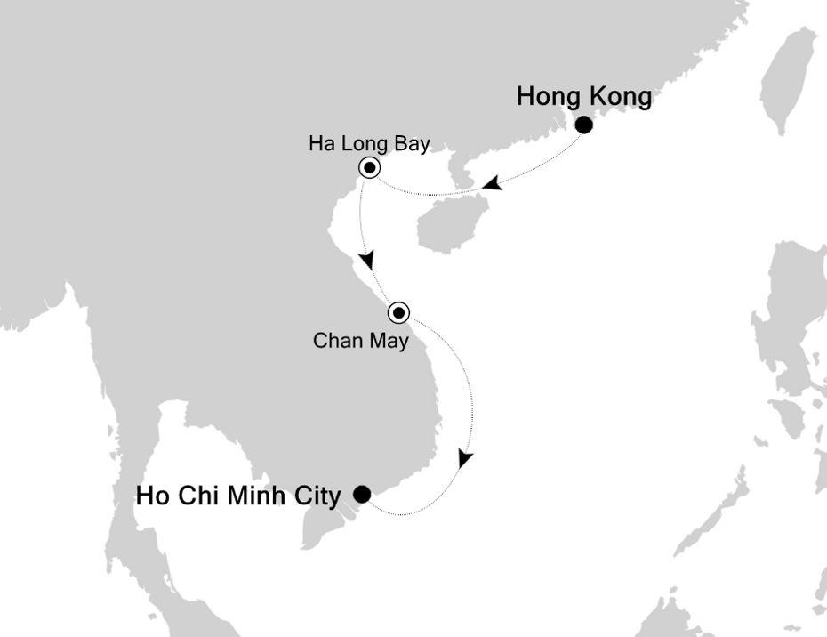 3901C - Hong Kong à Ho Chi Minh City