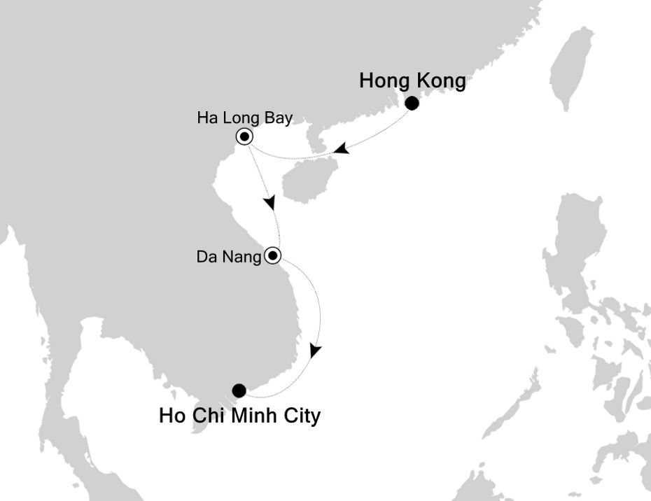 4806A - Hong Kong to Ho Chi Minh City