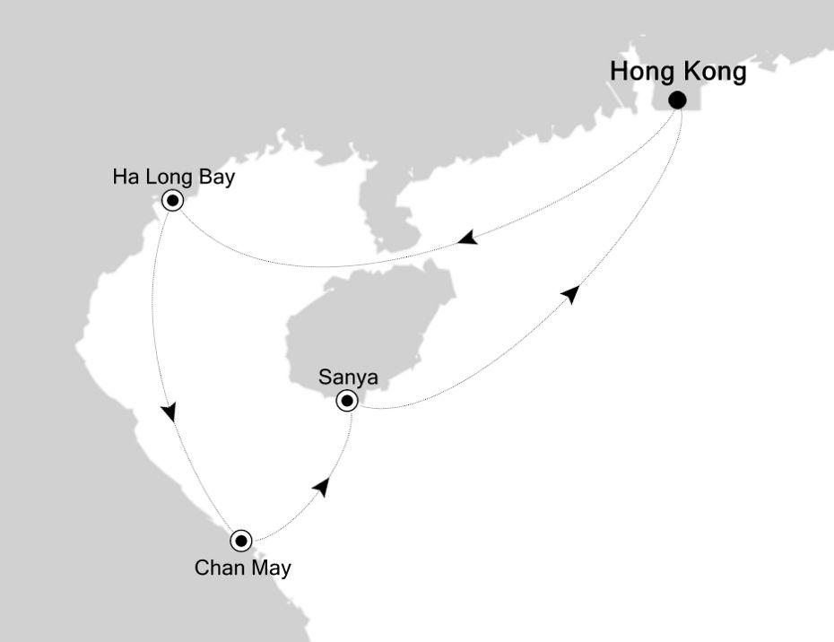 3903 - Hong Kong nach Hong Kong