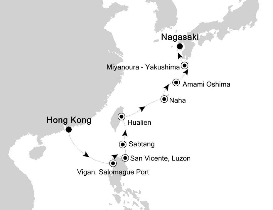 9806 - Hong Kong to Nagasaki