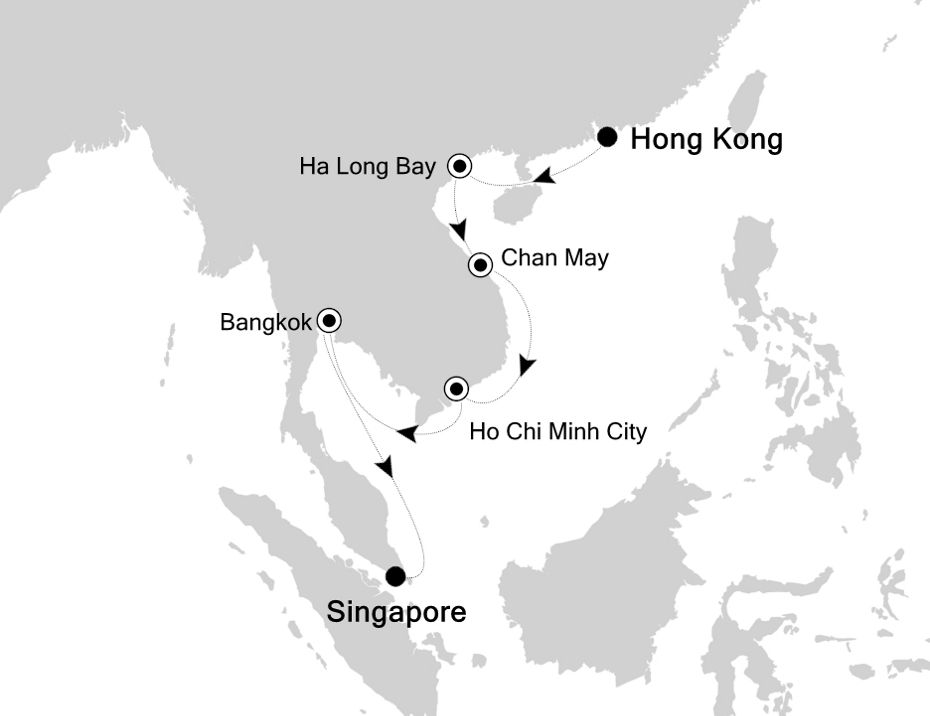 3901 - Hong Kong to Singapore