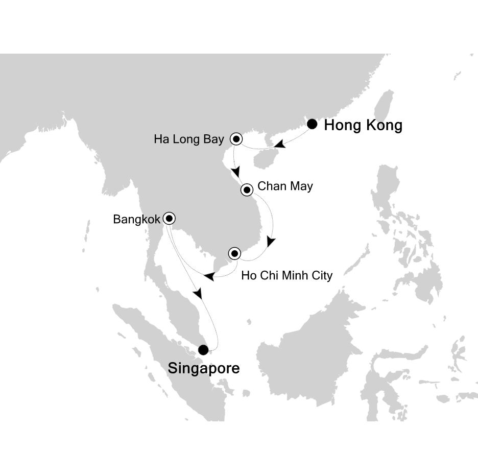 3904 - Hong Kong to Singapore