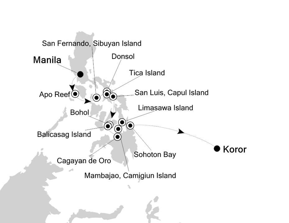 9810 - Manila à Koror