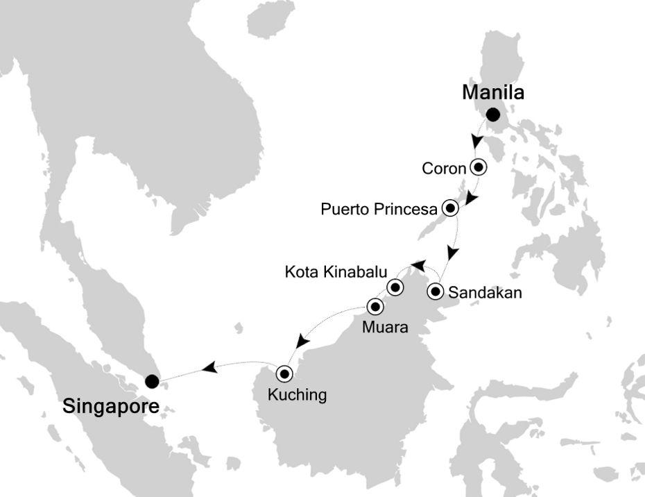 3809A - Manila a Singapore