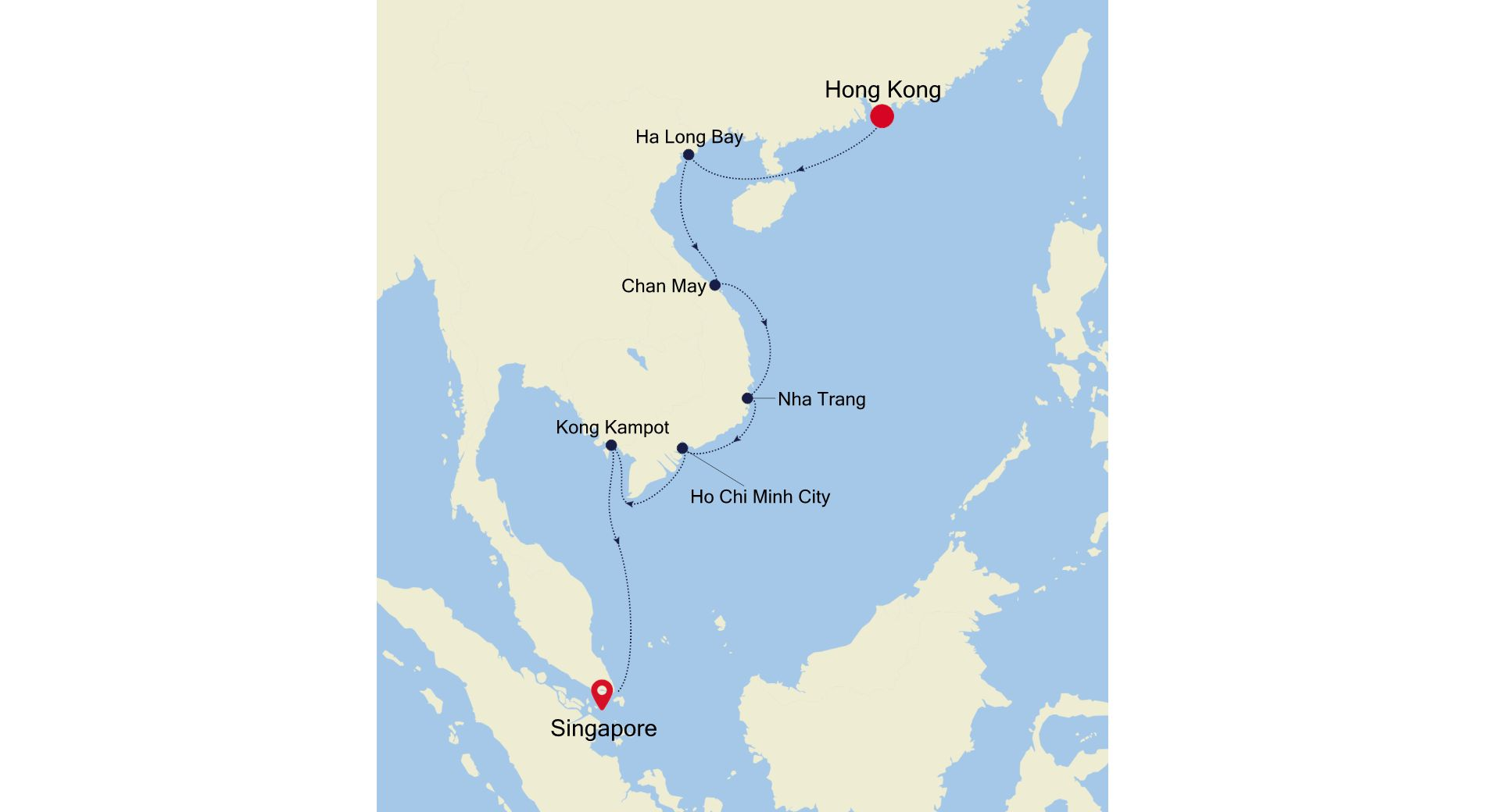 MO211221015 - Hong Kong à Singapore