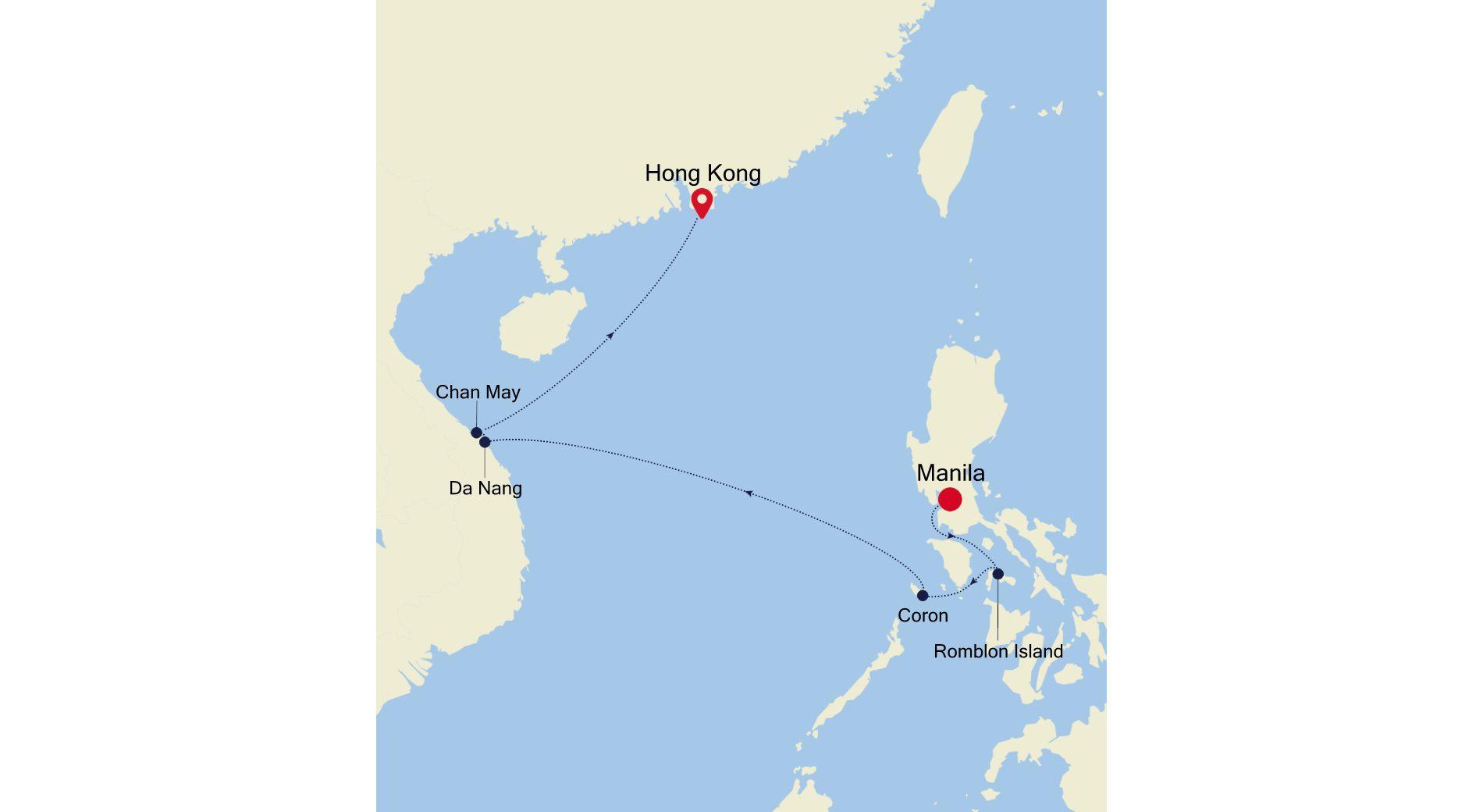 MO220122S09 - Manila a Hong Kong
