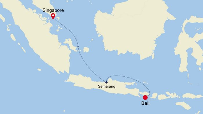Luxury Cruise from BALI to SINGAPORE 13 Apr 2020 | Silversea