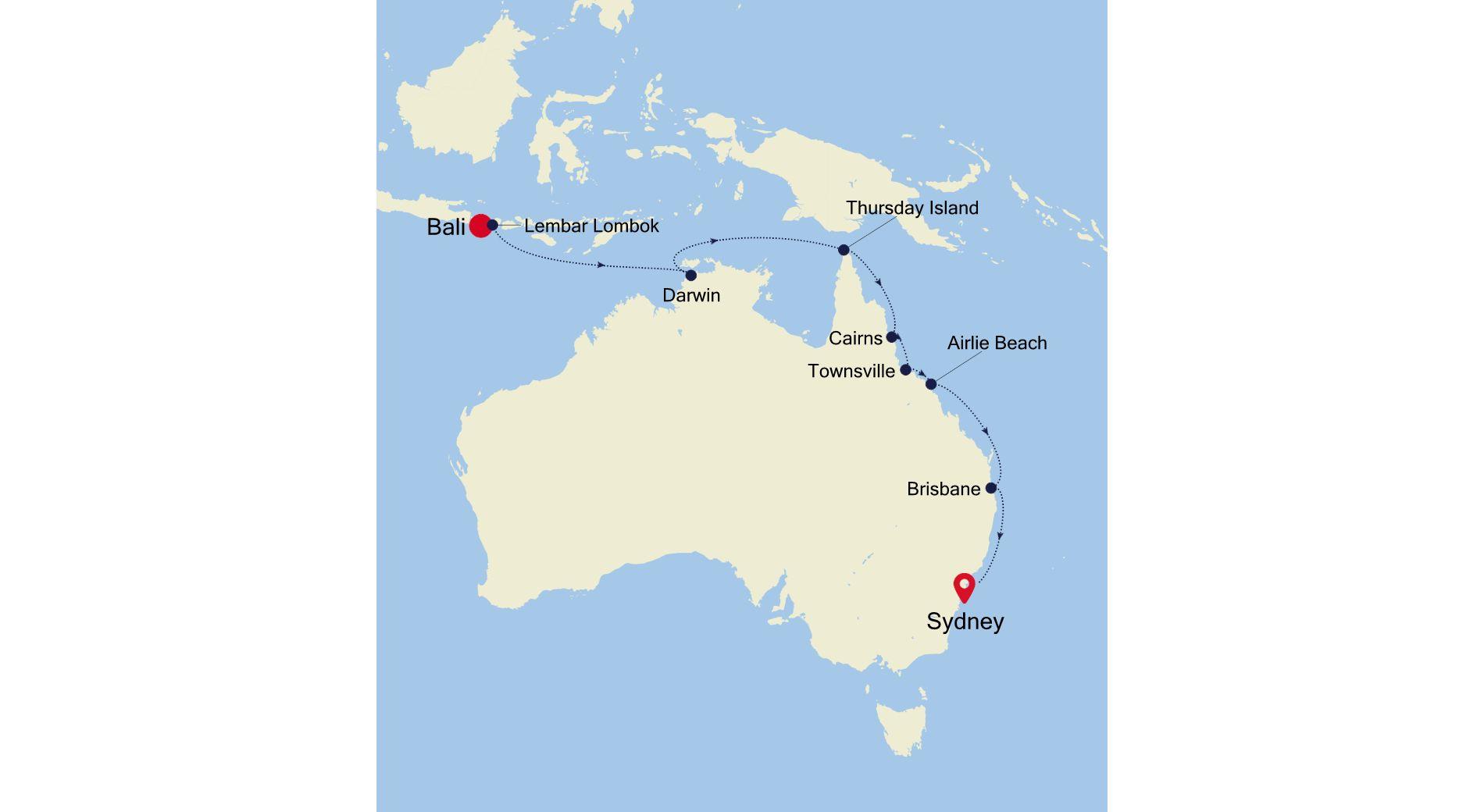 SM211202S15 - Bali  à Sydney