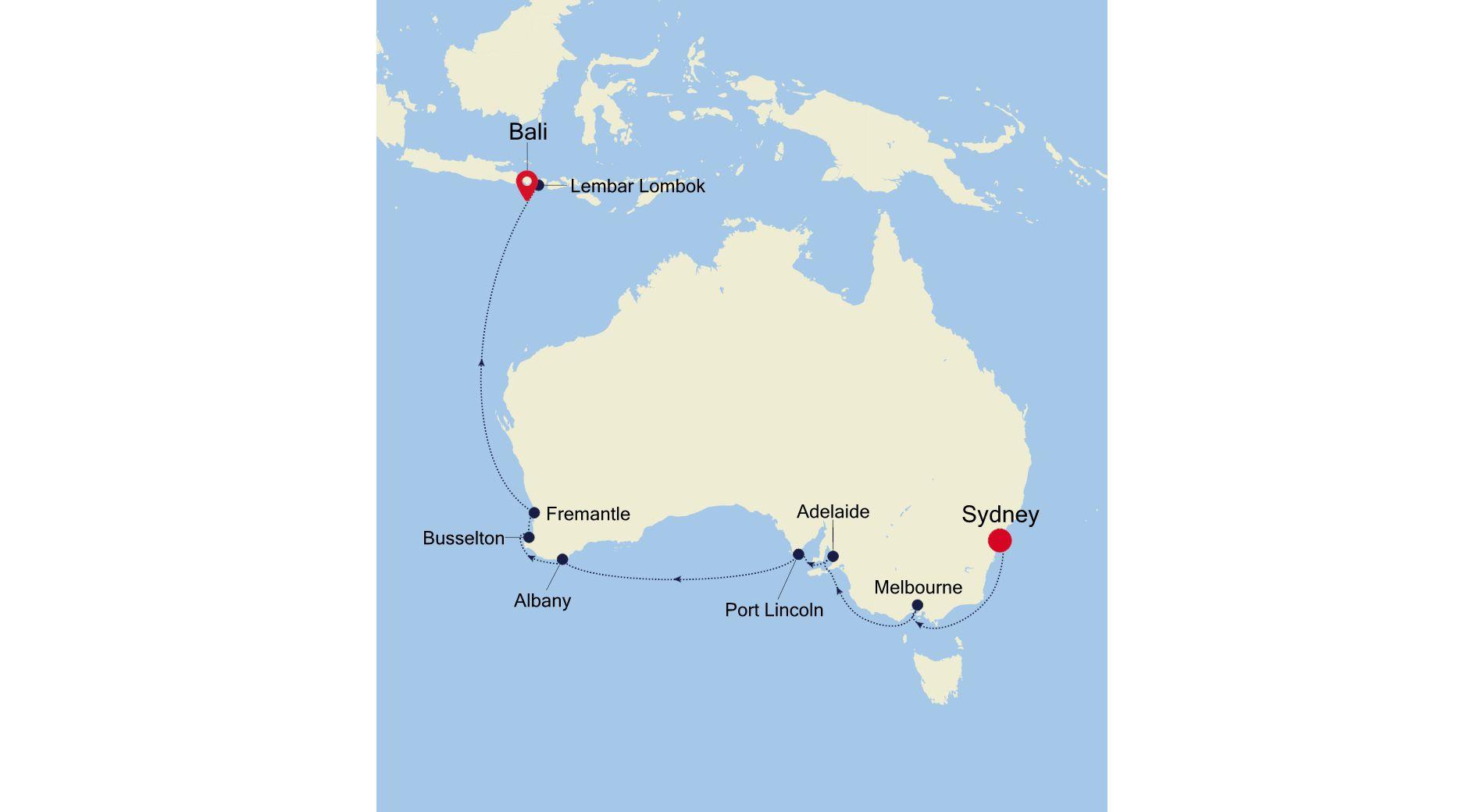 SM220219S15 - Sydney nach Bali