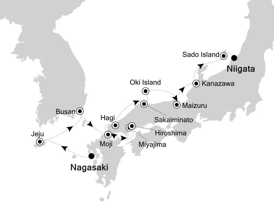 9807 - Nagasaki a Niigata
