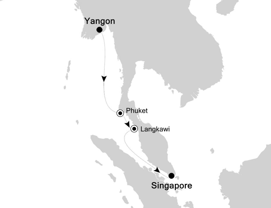 3907Q - Yangon to Singapore