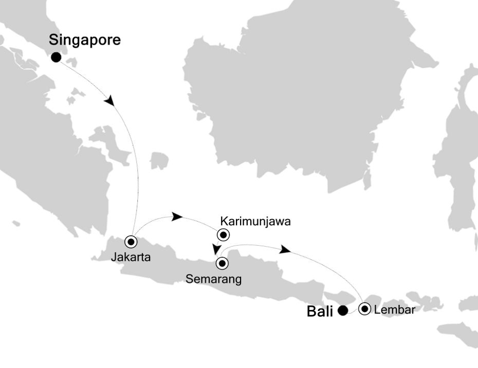 6834 - Singapore nach Bali
