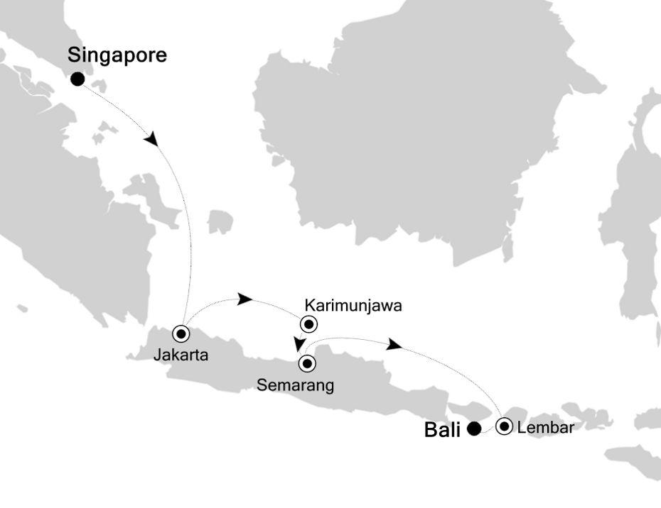 6834 - Singapore to Bali