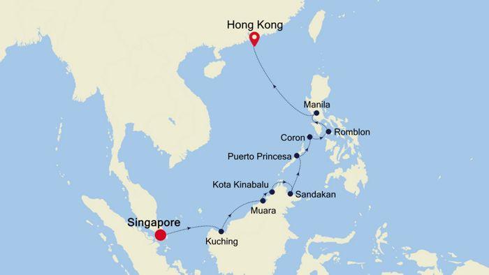 Luxury Cruise from SINGAPORE to HONG KONG 19 Jan 2019 | Silversea