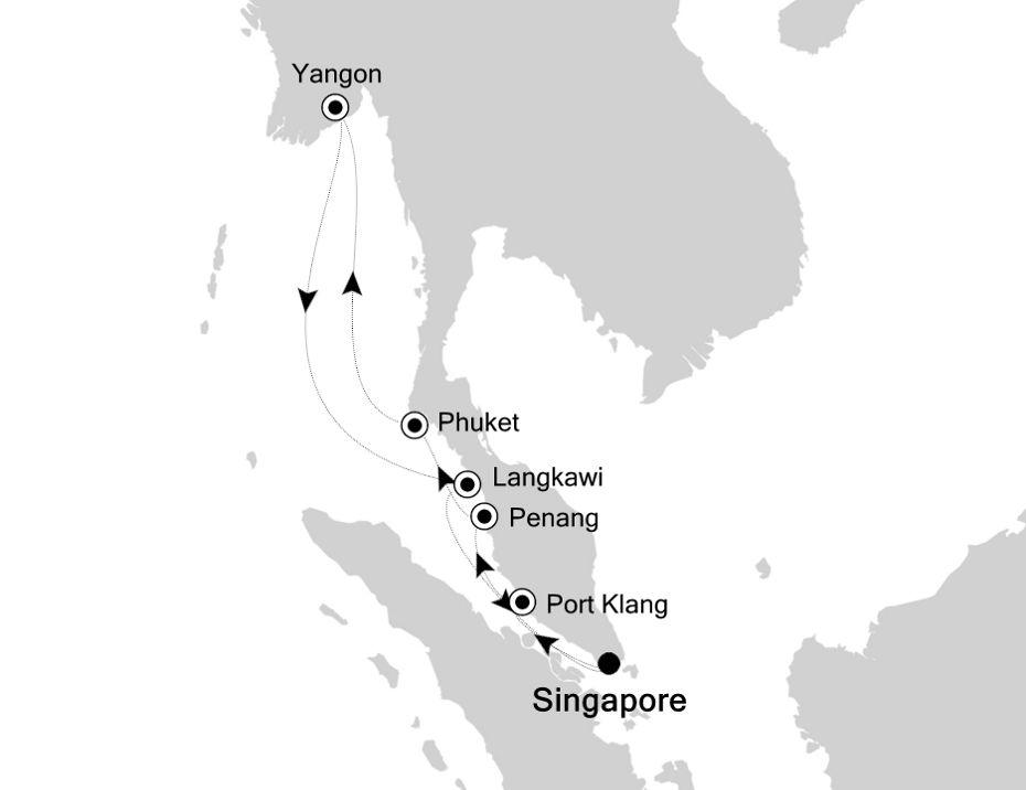 3807 - Singapore nach Singapore