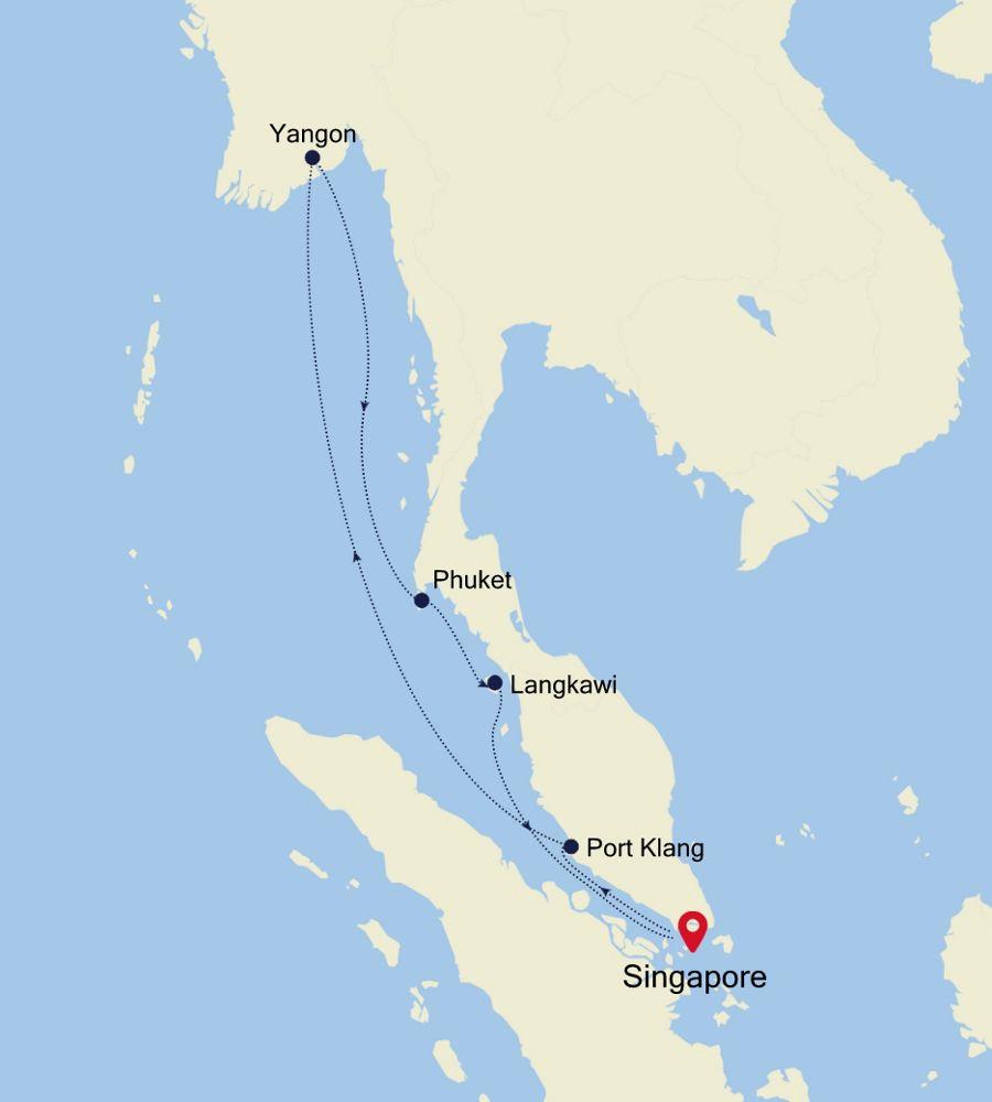 3907 - Singapore a Singapore