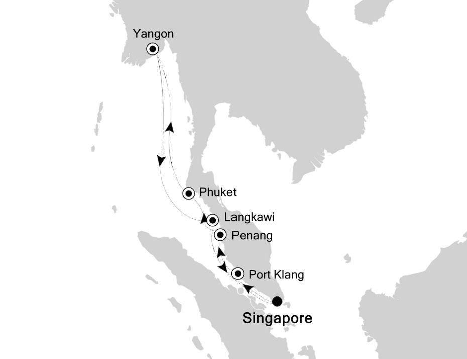 6833 - Singapore to Singapore