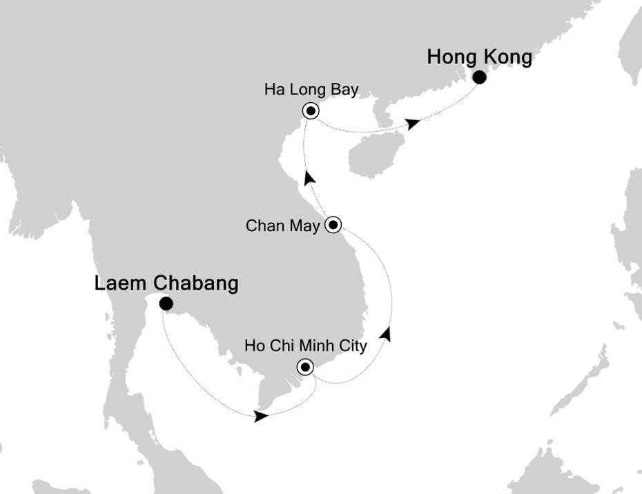 5935C - Laem Chabang nach Hong Kong