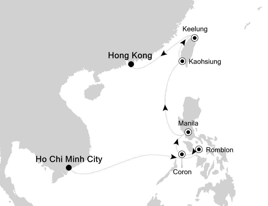 5003C - Laem Chabang a Ho Chi Minh City