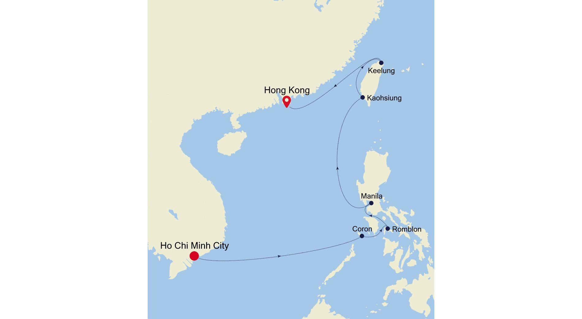 5003C - Ho Chi Minh City to Hong Kong