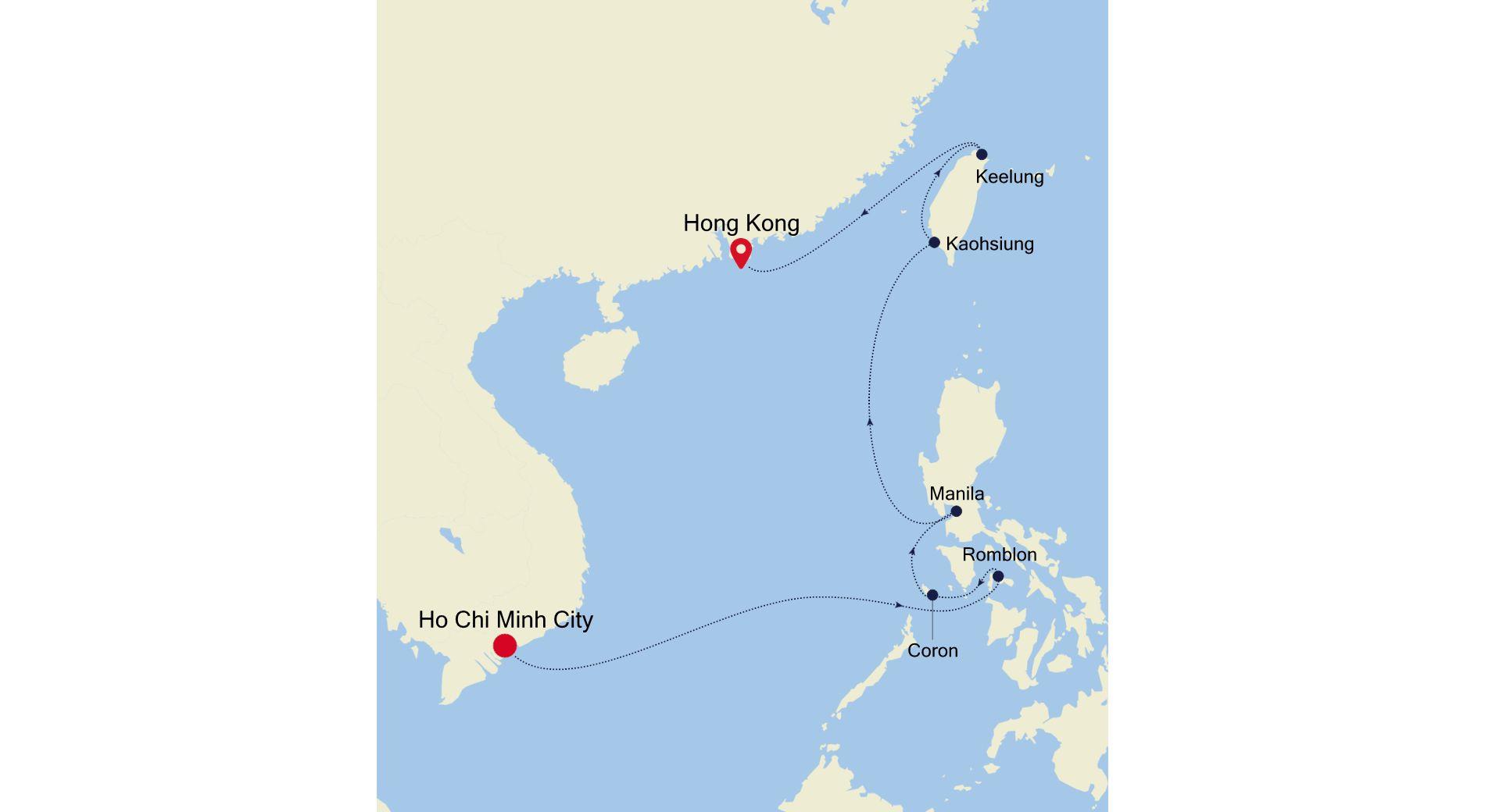5003C - Ho Chi Minh City nach Hong Kong