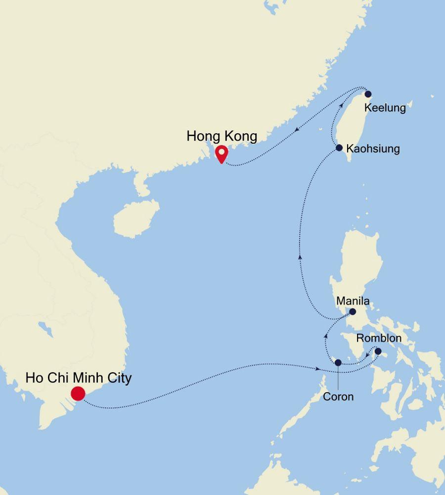 5003C - Laem Chabang to Ho Chi Minh City
