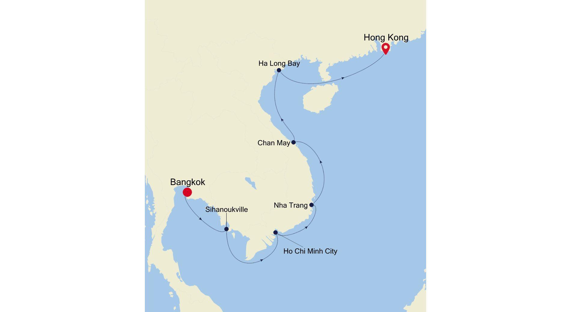 SL201223S12 - Bangkok to Hong Kong
