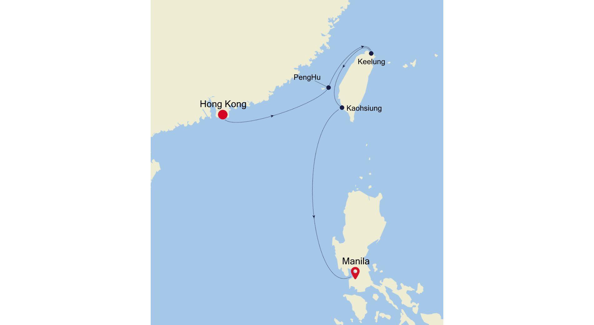 SL210104S06 - Hong Kong à Manila