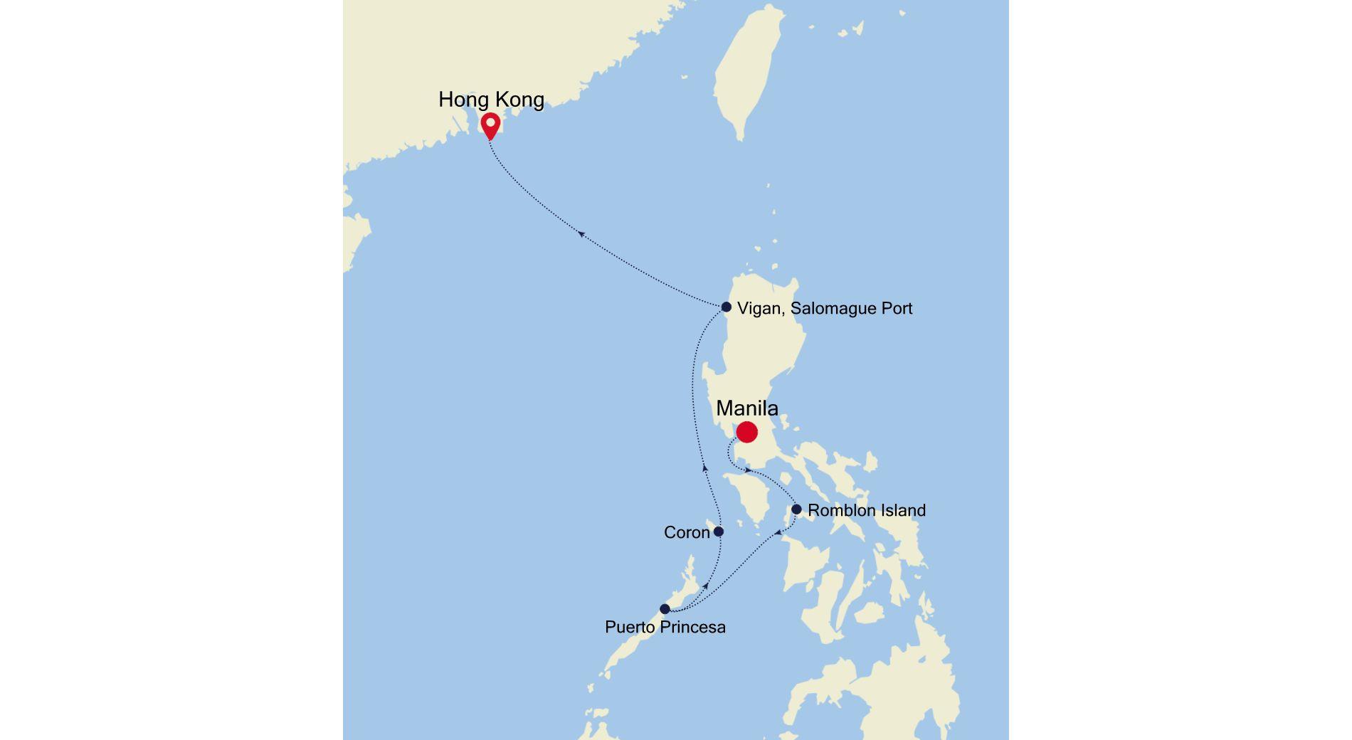 SL210110S06 - Manila to Hong Kong