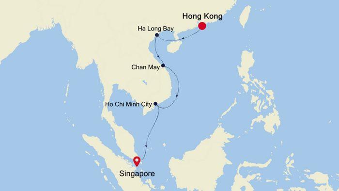 Hong Kong To Singapore 16 Jan 2021