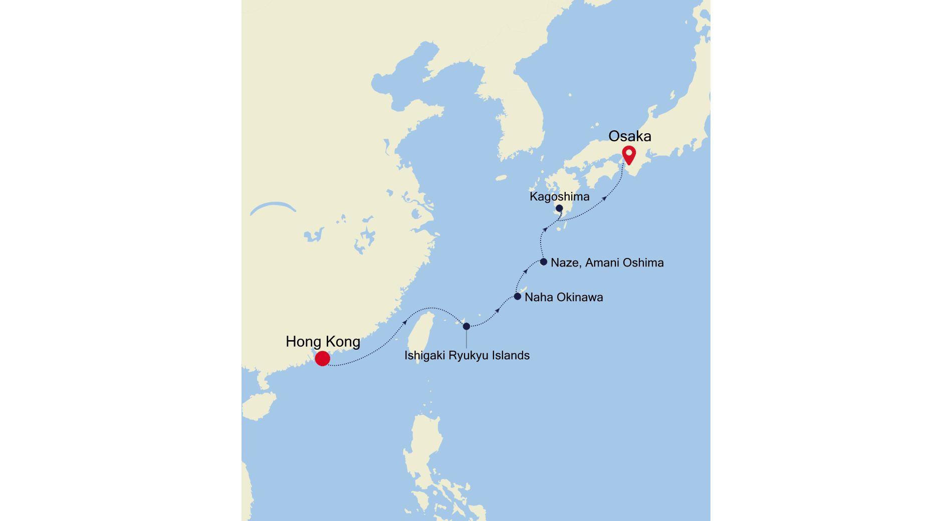 SL210209S07 - Hong Kong to Osaka