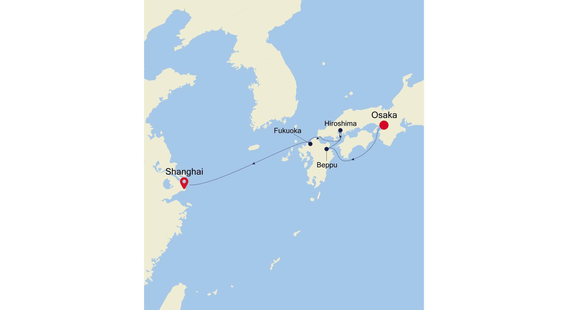 SL210216S07 - Osaka nach Shanghai