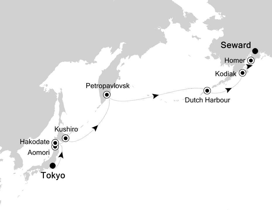 6910 - Tokyo a Seward
