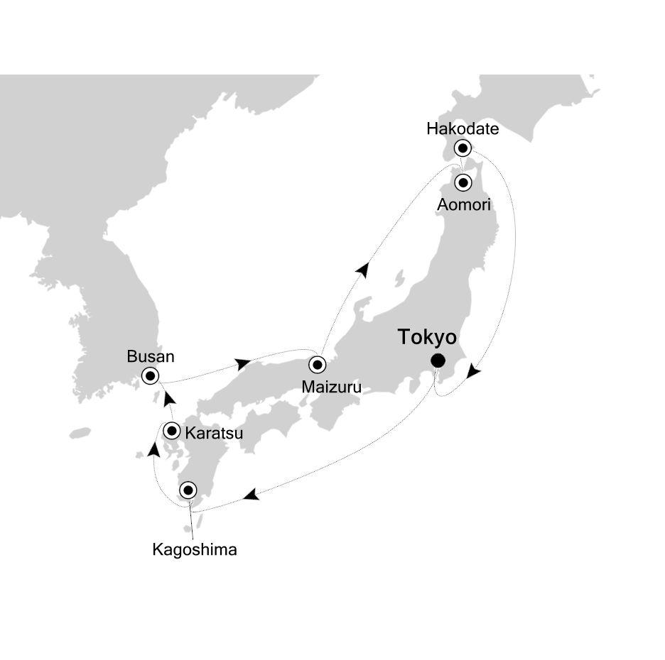 6908 - Tokyo to Tokyo
